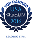 Ranked in USA Chambers 2016
